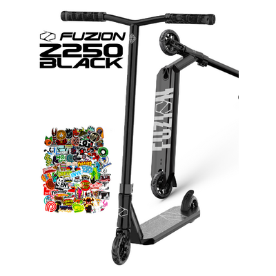 Fuzion Z250 Scooter - Black