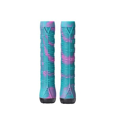 Envy Scooter Grips - Pink/Teal