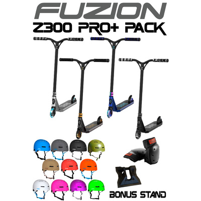 Fuzion Z300 Scooter 2021 Pro+ Pack