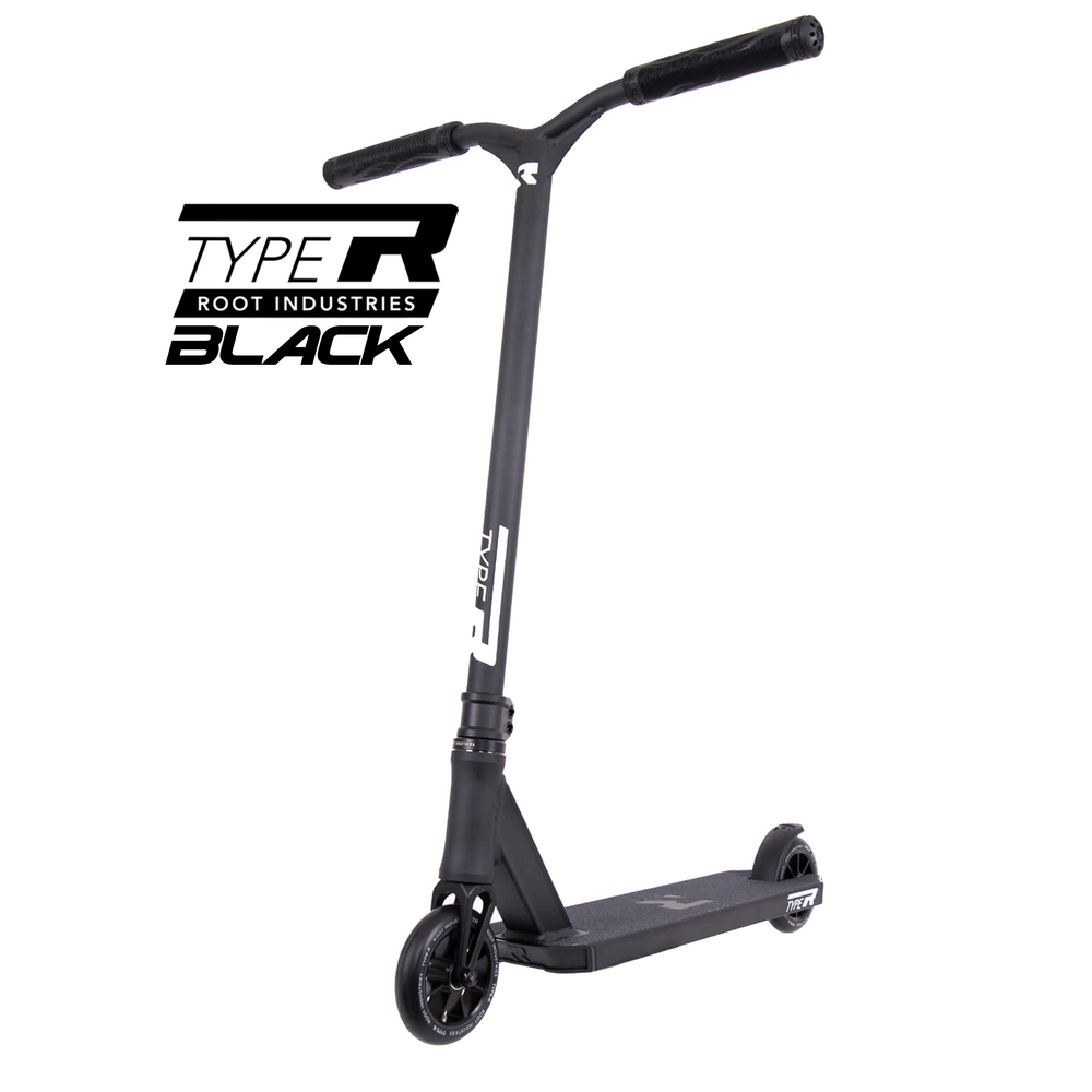Root Industries Type R Scooter - Black - Bonus Stand